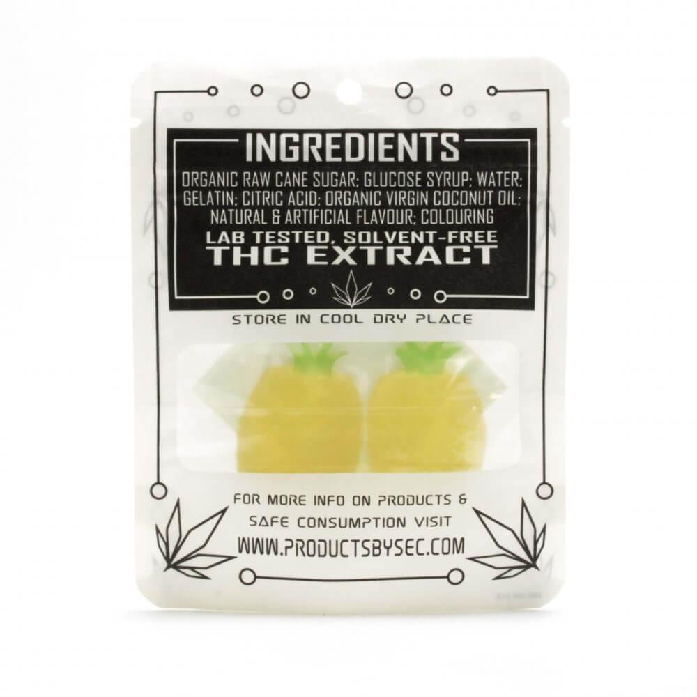 100mg THC edible