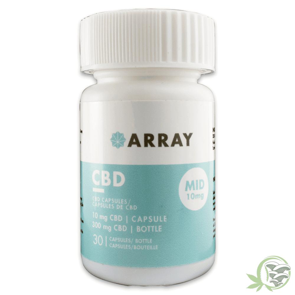 Array CBD Mid 10mg Caps at Sacred Meds