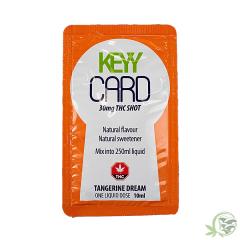 Key Card Tangerine Dream 30mg THC Shot at Sacred Meds