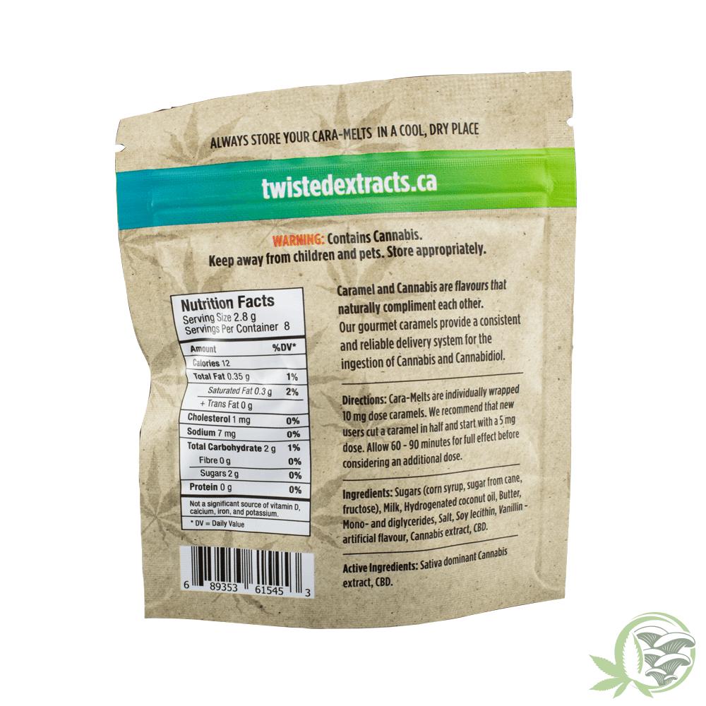Twisted Extracts Cara-Melts THC/CBD Sativa at SacredMeds