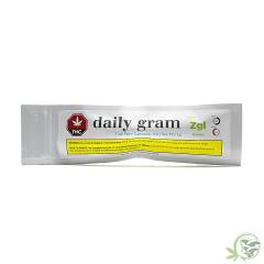 Cannabis oil by daily gram
