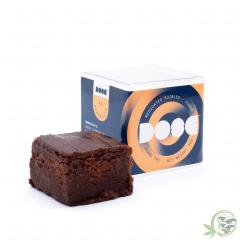 edibles chocolate fudge dose
