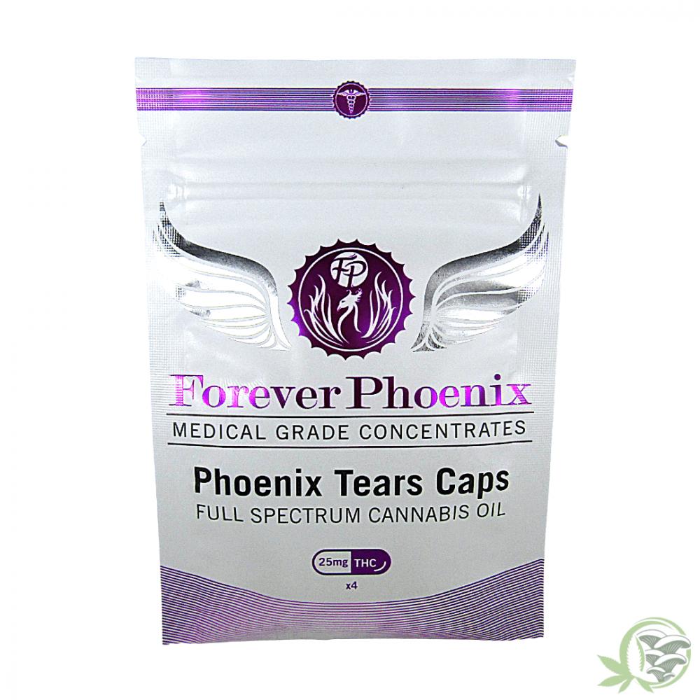 Phoenix Tears RSO Hash Oil Caps