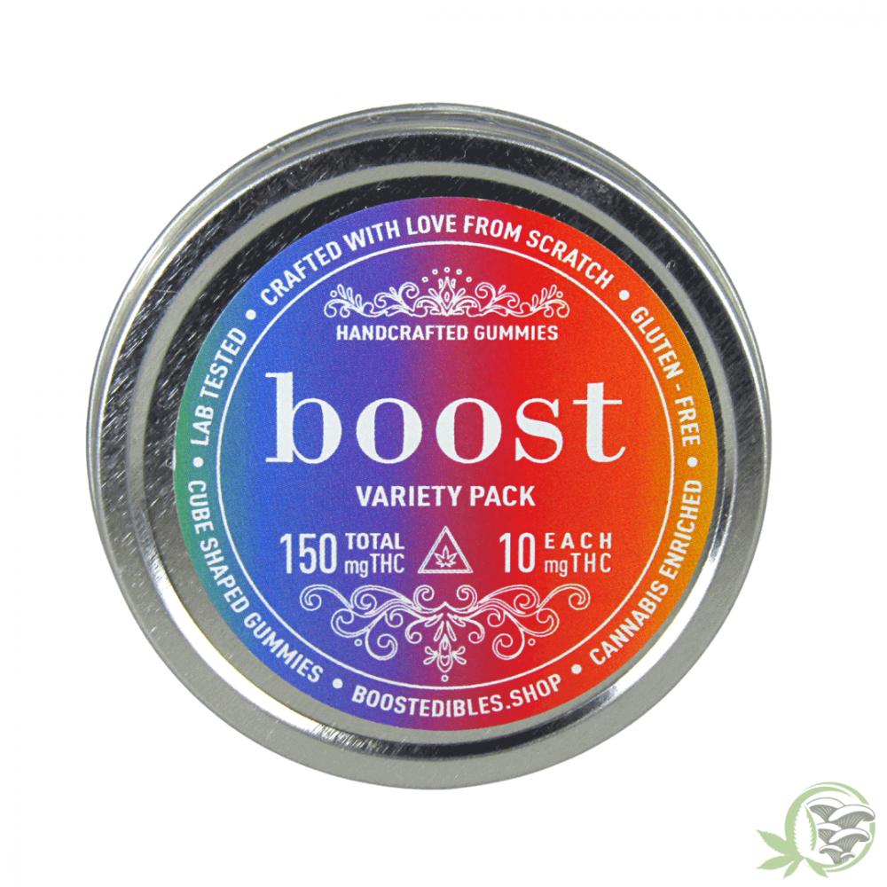 Boost Variety Pack THC Gummies 150mg