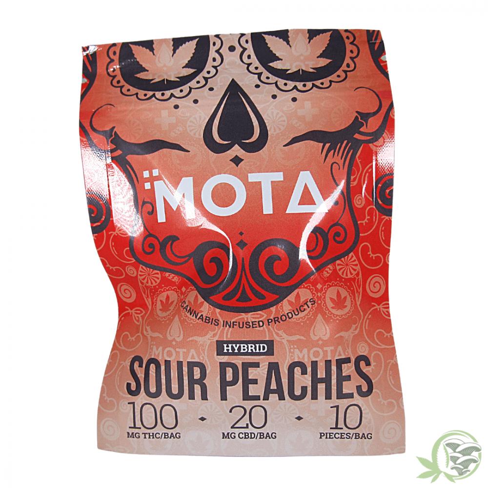 Mota Sour Peaches THC Gummies